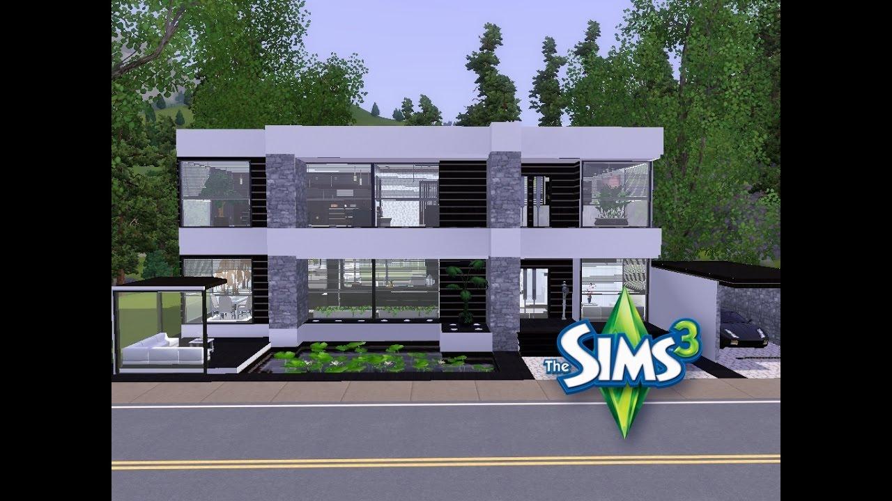 Sims 3 haus bauen let 39 s build kleines elegantes for Modernes haus sims