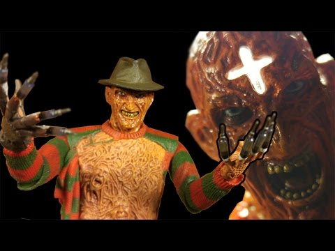 NECA Ultimate Freddy Krueger Part 3 Dream Warriors Action Fi