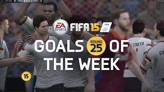 FIFA 15 - Best Goals of the Week - Round 25