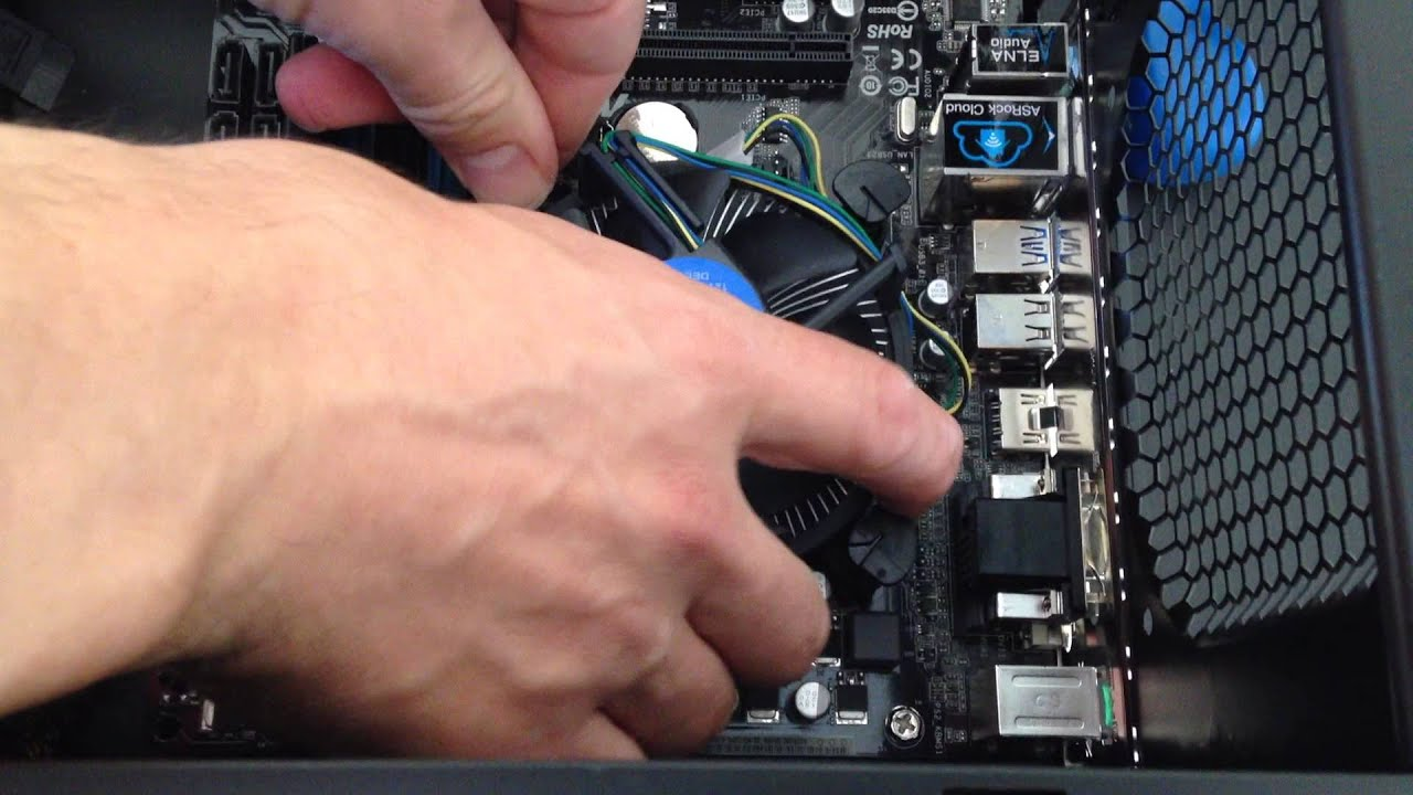 Connecting A Cpu Cooling Fan To A Motherboard  Intel