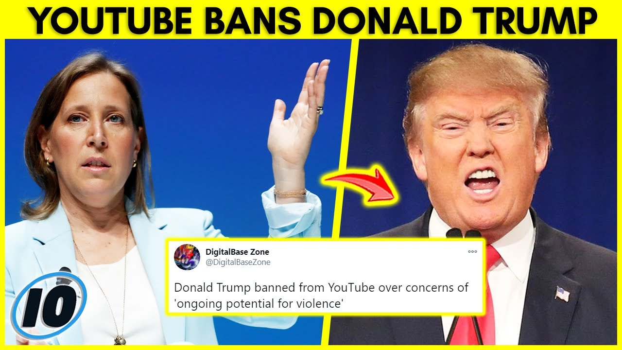 YouTube Bans Donald Trump! Jeffree Star, Bruce Willis, The Rock, Bitcoin & More News