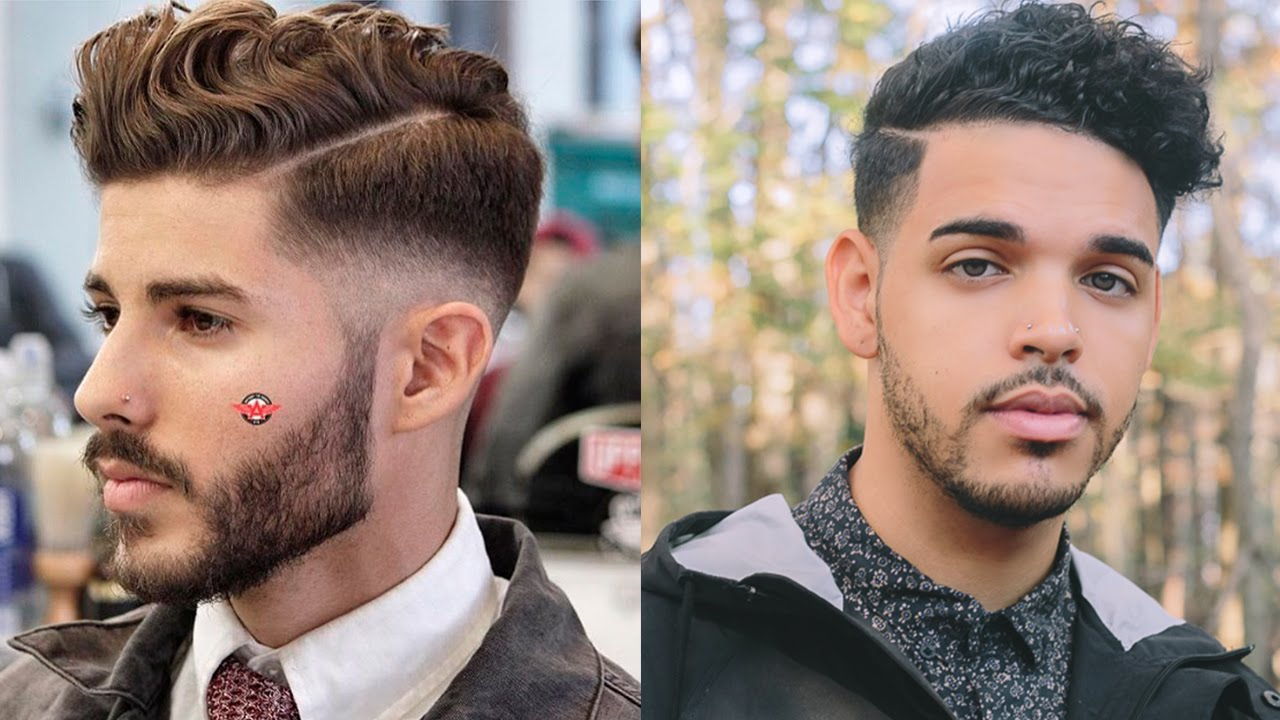 mens fall hairstyle | 2015 | tutorial | (thick mixed curly wavy hair) | thebrandonleecook