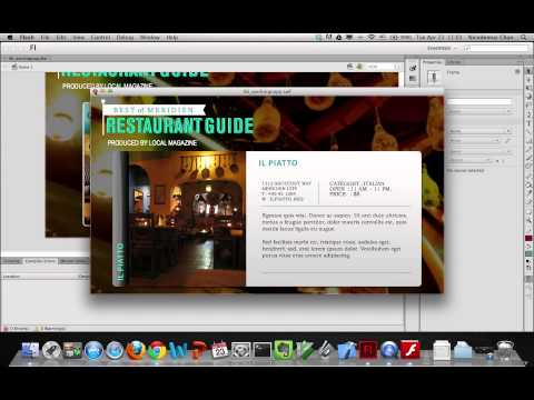 Flash CS5/CS6 Classroom in a Book Lesson 6: Creating Interactive Navigation