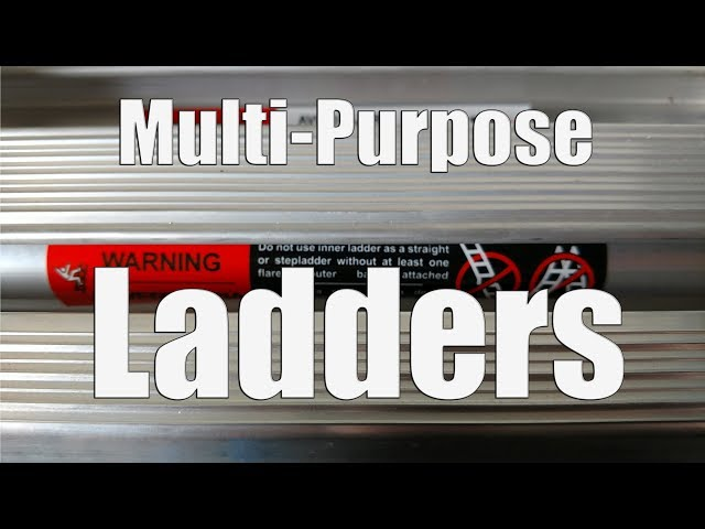 Multi-Purpose Ladders for Home Use | DEWALT Vs Little Giant