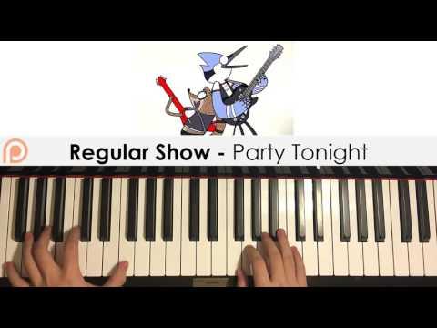 Regular Show - Party Tonight (Piano Cover) | Patreon Dedication #115