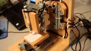 CD/DVD Sled CNC Printer