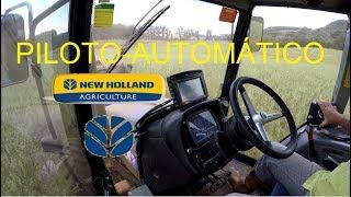 Piloto Automático Ez Pilot + GPS New Holland (Trimble) FM 750 (GoPro) 2017