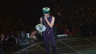 150308 XIA 3rd Concert in SEOUL-Genie Time -Angel of flowers sings the butterfly  준수 Junsu