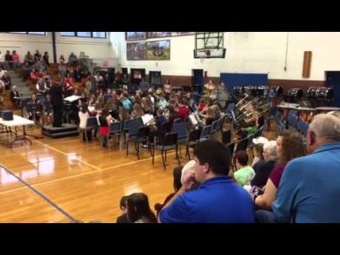 Gate City Middle school 8th grade band 2015 song #6