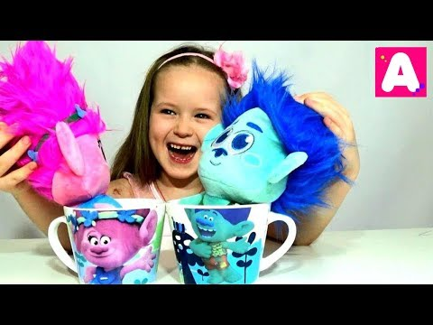Розочка и Цветан коллекция DreamWorks Видео для детей // Kisa Alisa