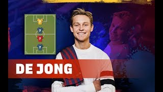 FRENKIE DE JONG | MY TOP 4 (LEGENDS)