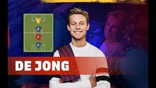 FRENKIE DE JONG | MY TOP 4 (LEGENDS)