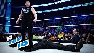 Top 10 SmackDown moments: WWE Top 10, March 24, 2016