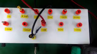 Kyoritsu 3007A Insulation Tester Repair and Calibration by Dynamics Circuit (S) Pte. Ltd.