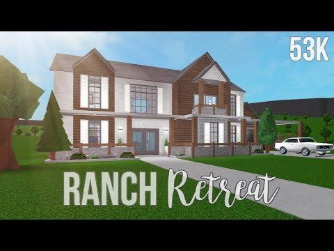 Bloxburg: Ranch Retreat 53K