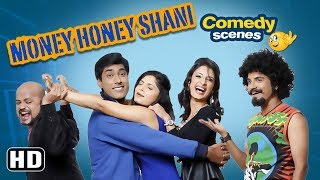 Comedy Scene of Latest Kannada Movie | Money Honey Shani | Top 10 Comedy Scenes | Monish Nagraj