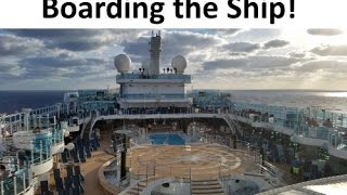 Boarding the Royal Princess Cruise Ship & Lunch [Vlog ep4]