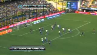 Los goles de Boca. Boca 2 - Tigre 1. Fecha 15. Torneo Inicial 2013. Fútbol Para Todos