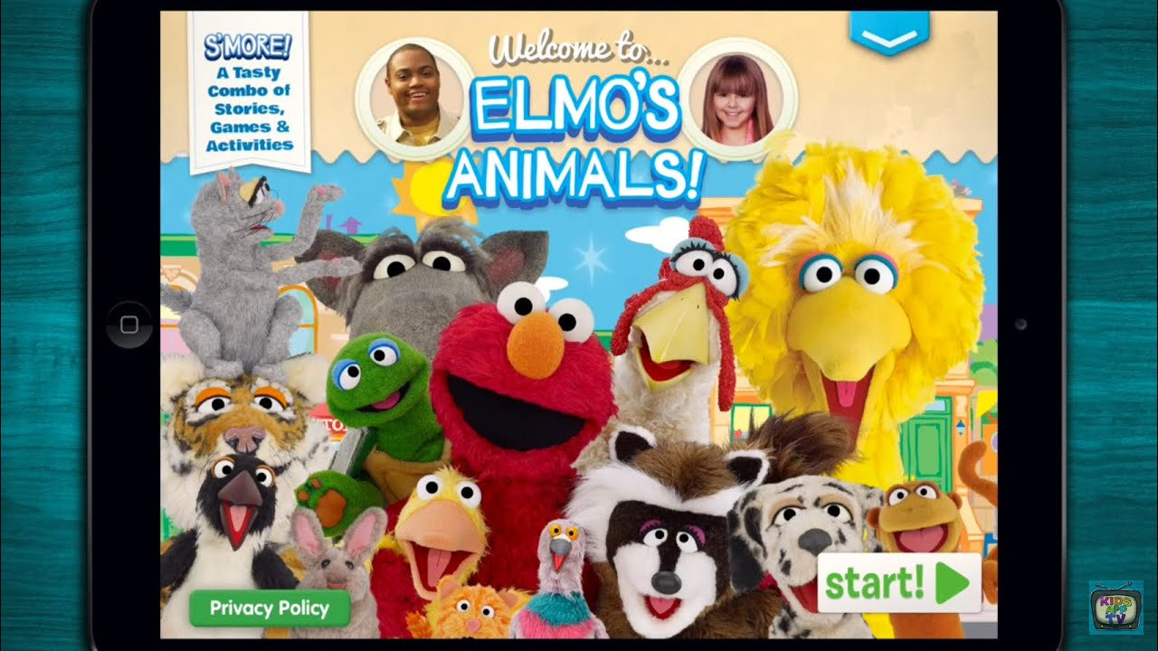 Elmo's Learning Adventure Animal Alphabet