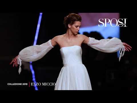 Abiti da sposa Enzo Miccio 2019, il video della sfilata