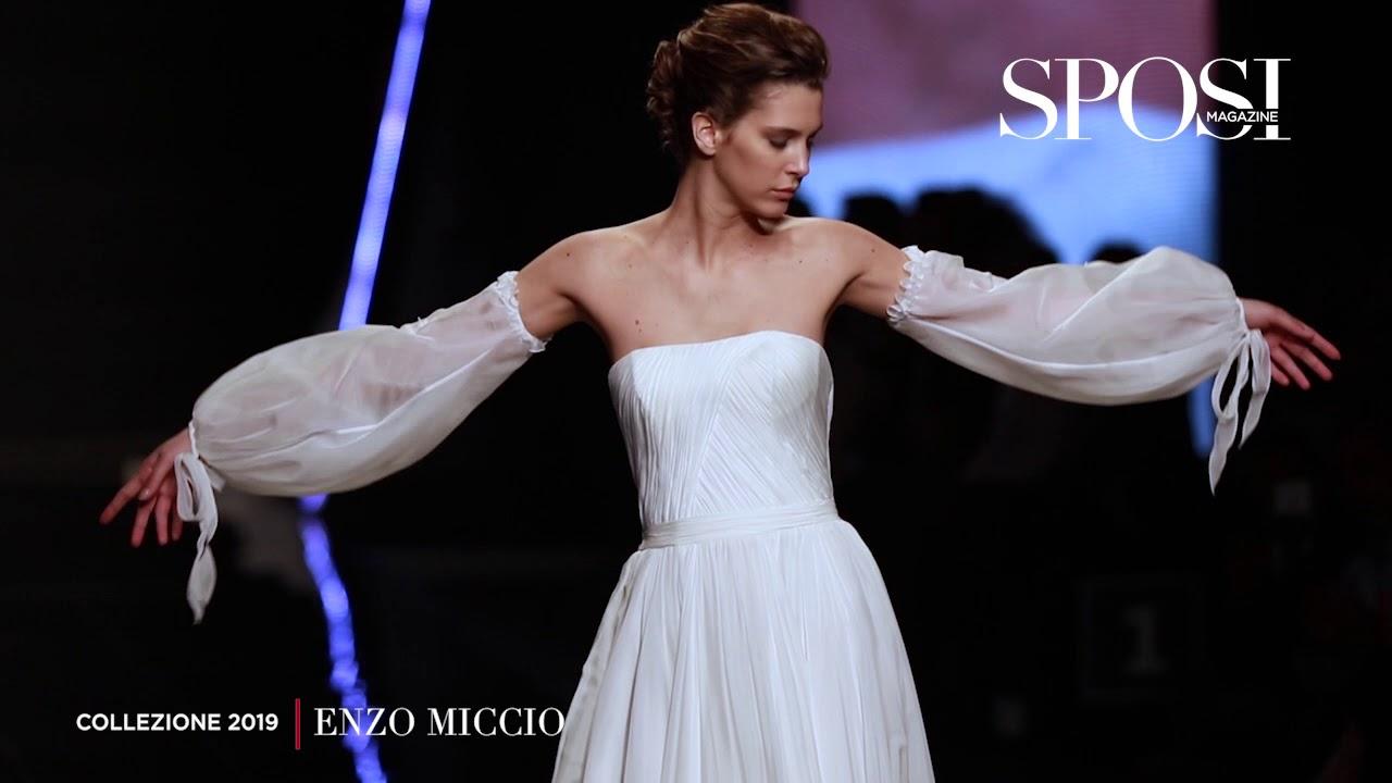 136dbbf9c248 Abiti da sposa Enzo Miccio 2019