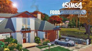 Дом Кулинарного БЛОГГЕРА 🍳 | Просторная Кухня | Без СС | THE SIMS 4 / Симс 4 Строительство