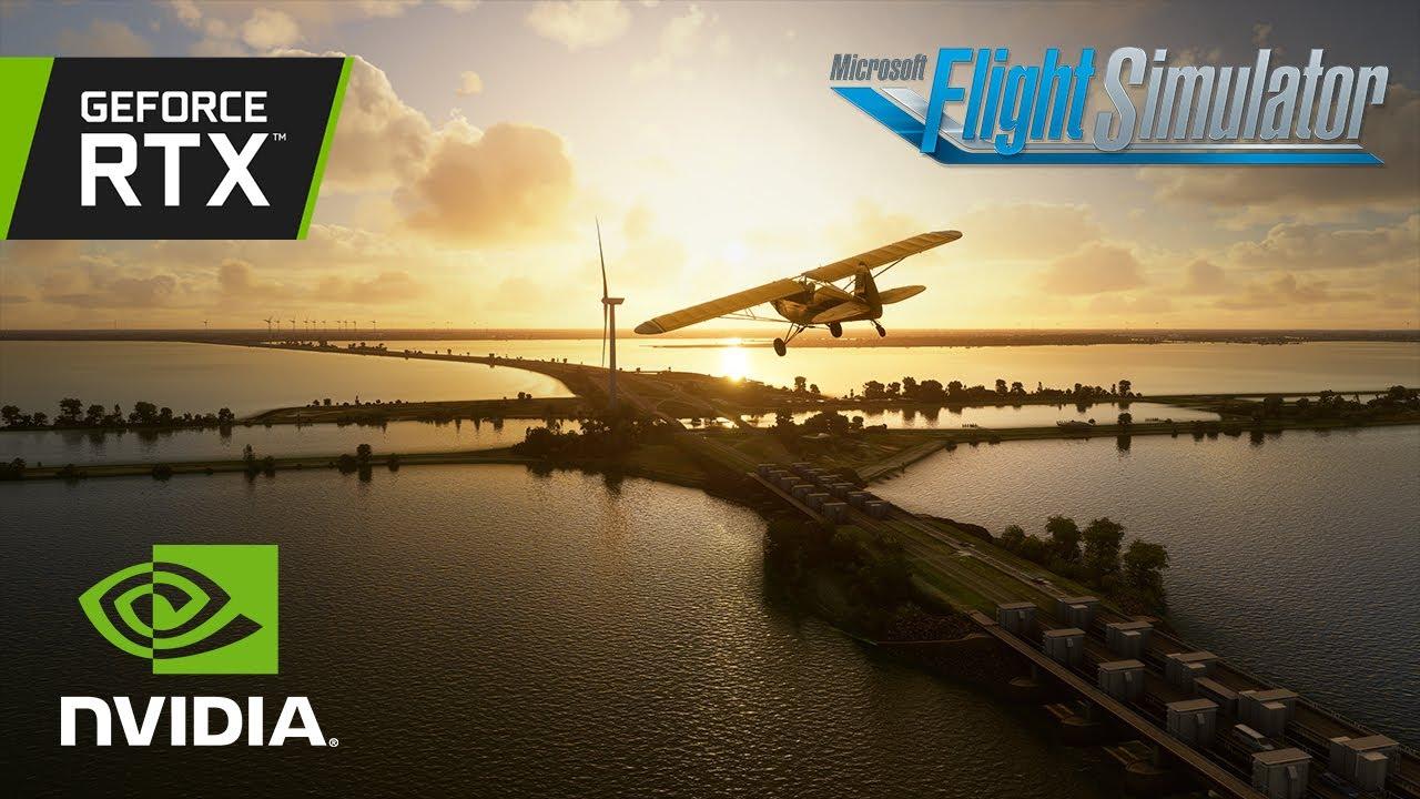 Microsoft Flight Simulator | Stunning aerial tour of France/Benelux - GeForce Community Showcase