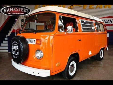 1973 Volkswagen Westfalia Camper for sale - Hanksters