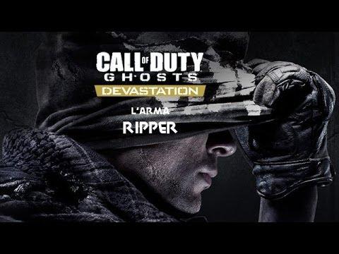 Call of Duty Ghosts Devastation DLC - L'arma Ripper - YouTube Cod Ghost Devastation Ripper