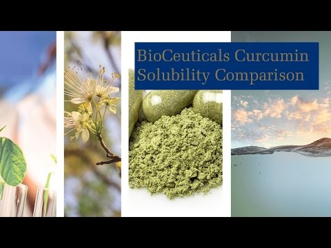 Curcumin Solubility Comparison. Voice-over by Dr Michael Murray