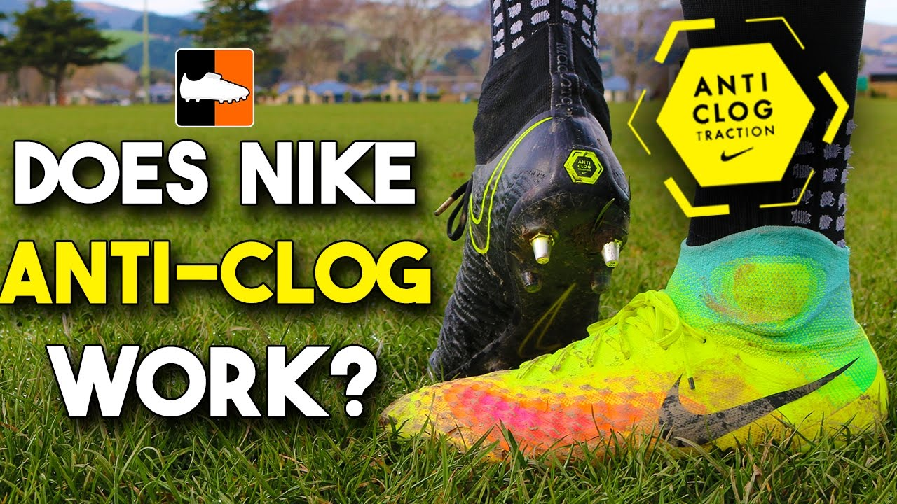 f06299e3b75e Does Anti-Clog Traction Work? Nike Magista Obra Boots Test - YouTube