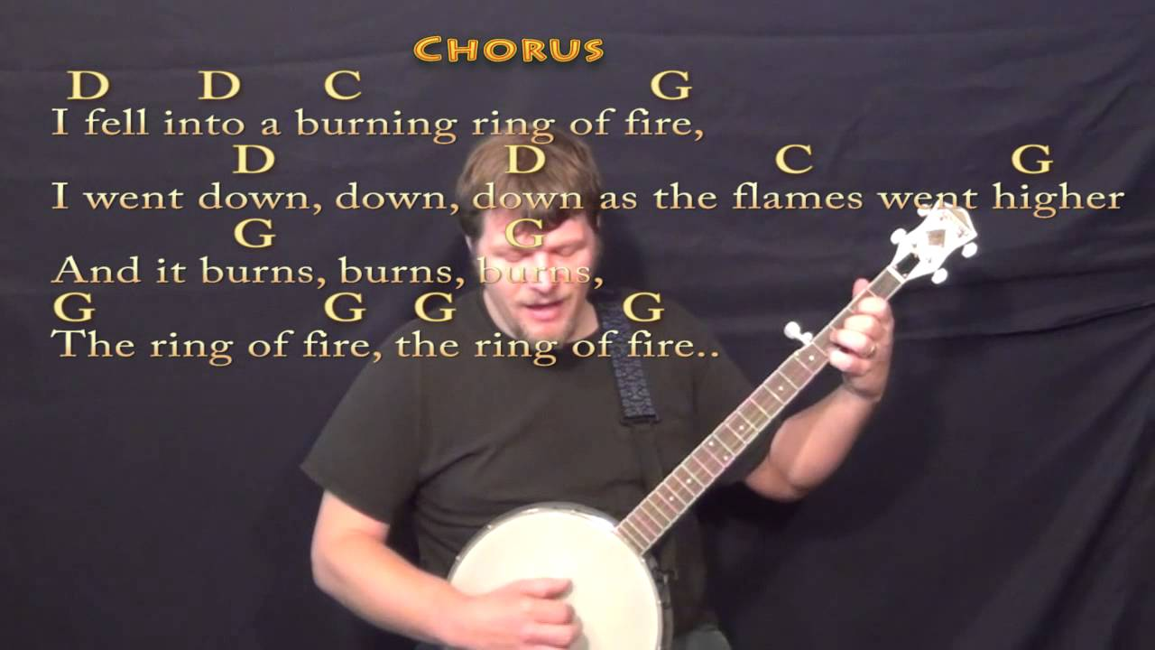 Ring Of Fire Johnny Cash Pdf
