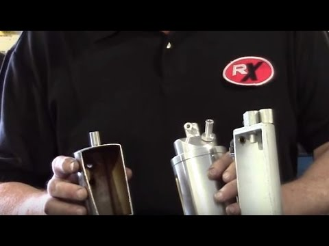 RX Performance Tracy Lewis Extreme Products Oil Catch Cans Dual Valve Kit Monster Single Overview