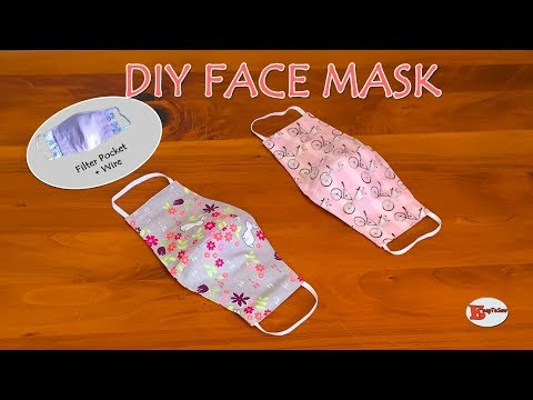 how-to-make-face-mask-at-home-|-diy-face-mask-with-filter-pocket-and-wire|-sewing-tutorial