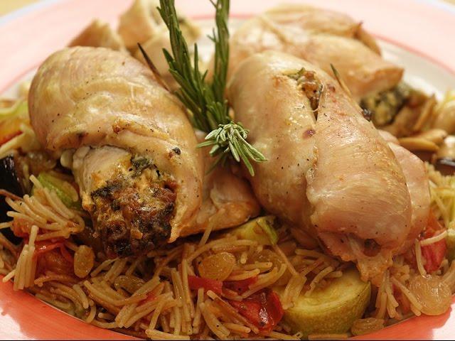 دجاج محشي بالسبانخ و الجبنه - Mini Recipe
