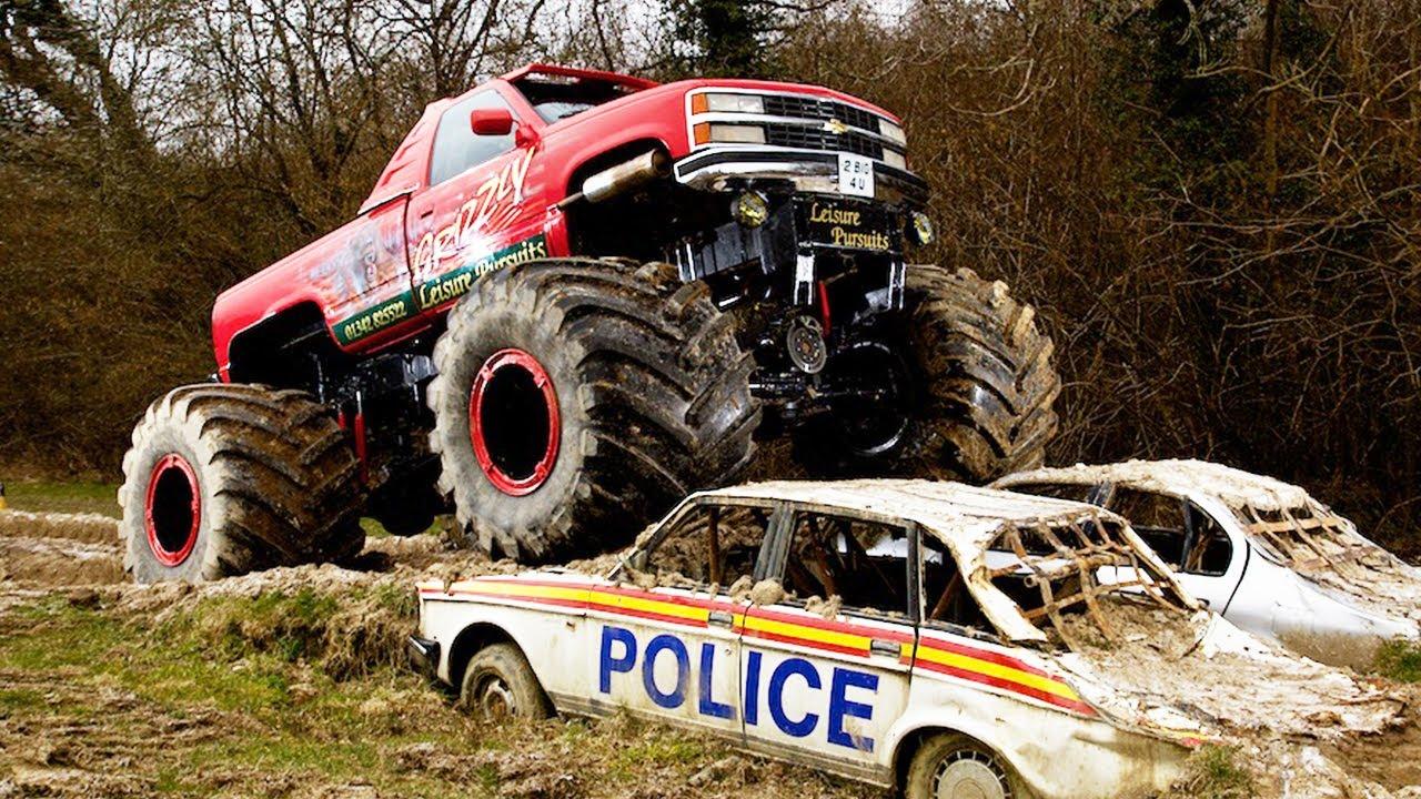 Monster Truck Challenge Link Up Tv Vs Car Throttle Youtube