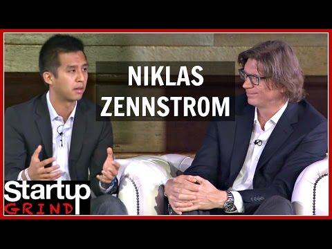 NIKLAS ZENNSTROM | ATOMICO : SKYPE | STARTUP GRIND EUROPE