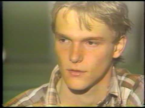 Schefferville 24 juin 1983 :ernier feu de la St-Jean l'Iron Ore ferme la mine