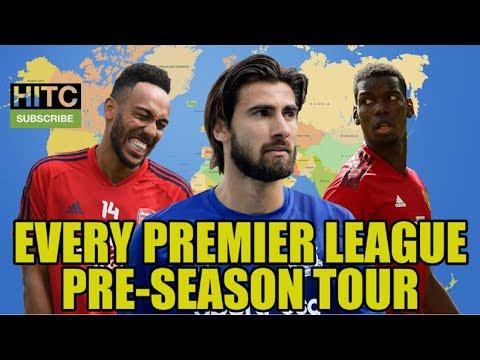 Every Premier League Pre-Season Tour This Summer