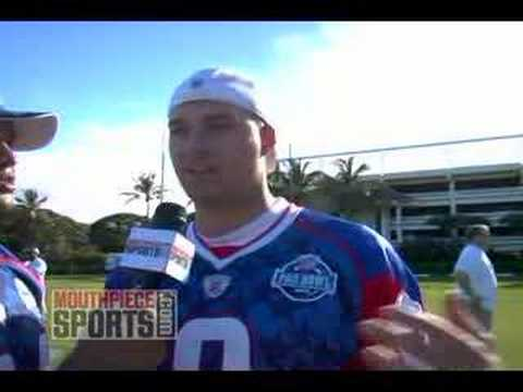 Quick Hits at the Pro Bowl with Brendon Ayanbadejo and Matt Hasselbeck