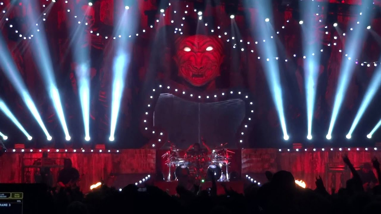 Slipknot The Devil In I Icehall Helsinki 1522015 Youtube