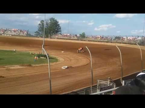Jason Johnson Qualifying At Lawrenceburg