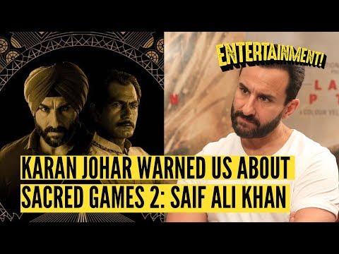 'Sacred Games 2' Was A Letdown Admits Saif Ali Khan | The Quint
