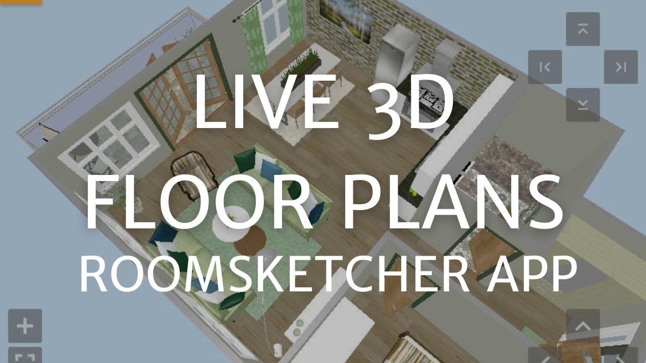 Live 3D Floor Plans
