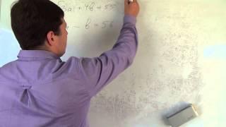 Алгебра 9 класс. 13 сентября. Решаем систему уравнений