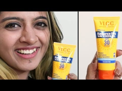 VLCC Radiance Pro Sunscreen Review _ Gel Sunscreen For Indian Skin | SuperWowStyle