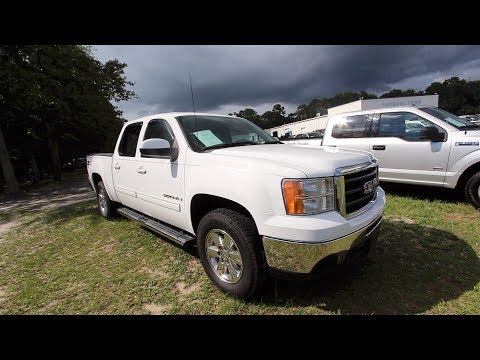 The 2009 GMC Sierra SLT Crew Cab w/Z71 REVIEW & For Sale at Ravenel Ford | June 2018