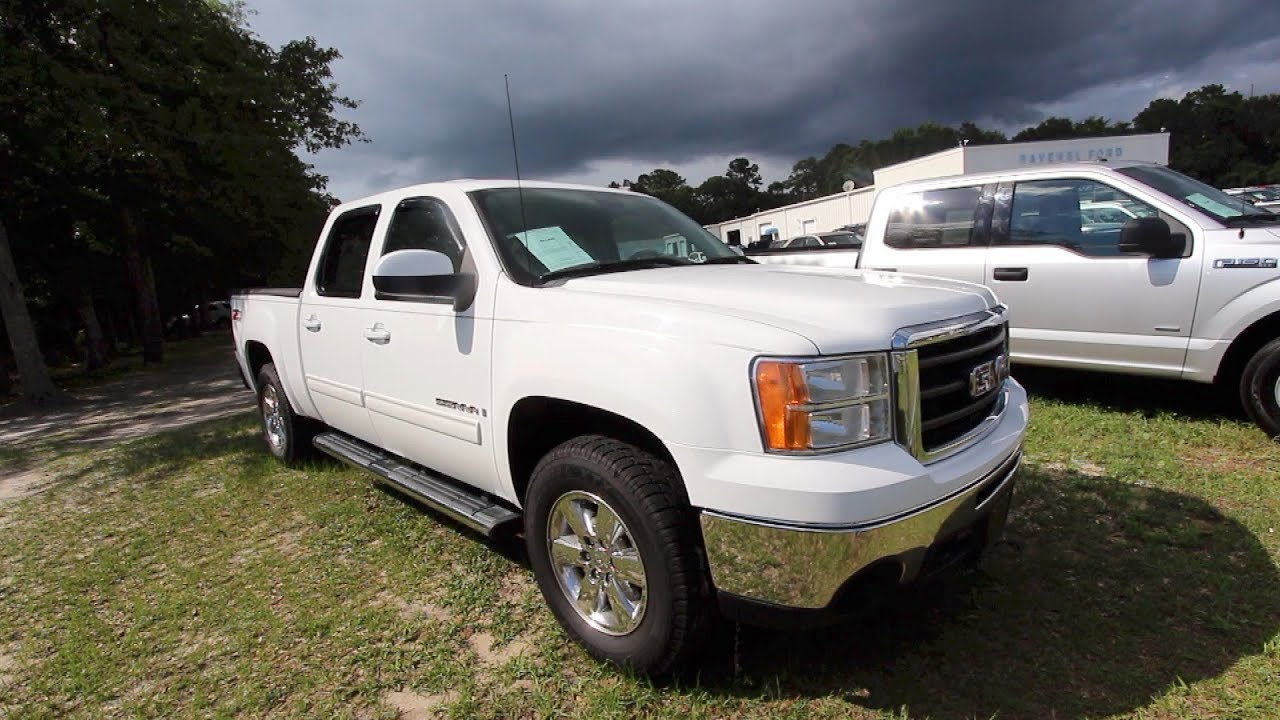 The 2009 Gmc Sierra Slt Crew Cab W Z71 Review For At Ravenel Ford June 2018