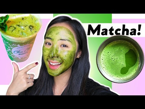 Amazing Benefits of Matcha Green Tea for Your Skin Beauty    3 DIY Face Masks
