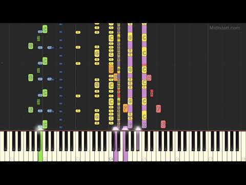 Ottawan - D.I.S.C.O (Instrumental Tutorial) [Synthesia]